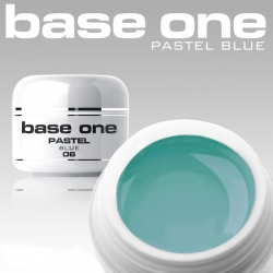 10 x 4 ml BASE ONE PASTELL BLUE COLORGEL**OHNE LABEL