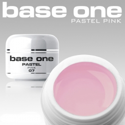 10 x 4 ml BASE ONE COLORGEL**OHNE LABEL*PASTEL PINK