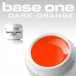 4,5 ml BASE ONE NEON COLORGEL*NEON DARK ORANGE