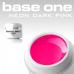 15 ml BASE ONE NEON COLORGEL*NEON-DARK-PINK