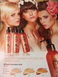 200 ml Body Shine Make Up Lotion  Nr. 3 Dark