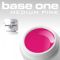 4ml BASE ONE NEON COLORGEL*NEON MEDIUM PINK