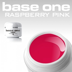 10 x 4 ml BASE ONE NEON COLORGEL**OHNE LABEL*NEON-RASPBERRY PINK