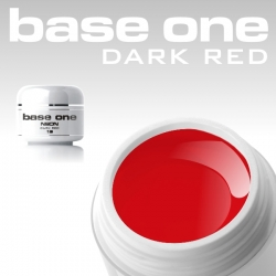 4,5 ml BASE ONE NEON COLORGEL*NEON DARK RED