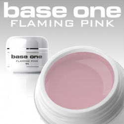 4 ml BASE ONE COLORGEL*FLAMING PINK