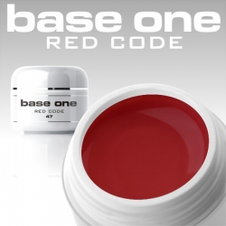 4ml BASE ONE COLORGEL*RED CODE