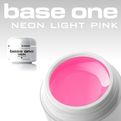 4ml BASE ONE NEON COLORGEL*NEON LIGHTPINK