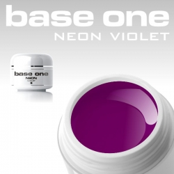 4ml BASE ONE NEON COLORGEL*VIOLETT