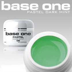 4ml BASE ONE PASTELL COLORGEL*DARK MINT