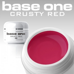 10 x 4 ml BASE ONE COLORGEL*CRUSTY RED**OHNE LABEL
