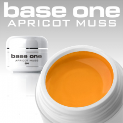 10 x 4ml BASE ONE COLORGEL*APRICOT MOUSSE*OHNE LABEL