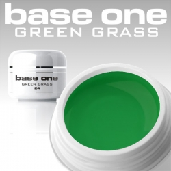 10 x 4 ml BASE ONE COLORGEL*GREEN GRASS*OHNE LABEL