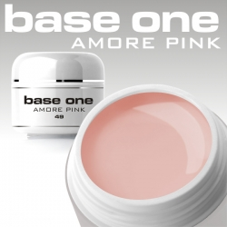 10 x 4 ml BASE ONE COLORGEL*AMORE PINK*OHNE LABEL