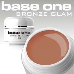 10 x 4 ml BASE ONE COLORGEL*BRONZE GLAM*OHNE LABEL