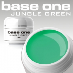 10 x 4ml BASE ONE COLORGEL*JUNGLE GREEN*OHNE LABEL