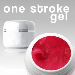 4 ml /3D/ ONE STROKE FARBGEL*red-pink