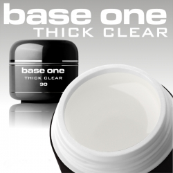 3 ml Base One UV Gel thick clear MUSTERGEL