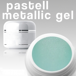 500 ml Metallic Gel** Pastell blau*