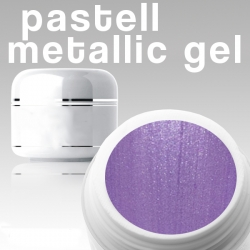 500 ml Metallic Gel** Pastell flieder*