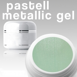 500 ml Metallic Gel** Pastell mint*