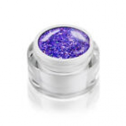 5ml Diamond Glitzer Effektgel  DREAM LILA im Designertiegel