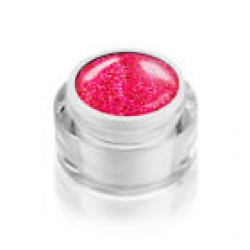 5ml Diamond Glitzer Effektgel  DREAM ROT im Designertiegel