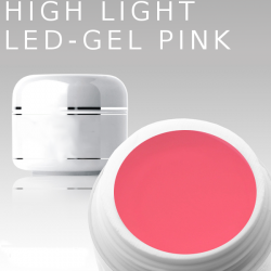 3ml High Light Gel Led pink **MUSTERGEL