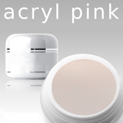 10g Acryl Puder  Pink