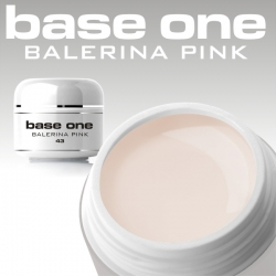 10 x 4 ml BASE ONE COLORGEL**OHNE LABEL*BALERINA PINK