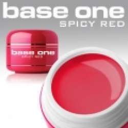 10 x 4 ml BASE ONE COLORGEL**OHNE LABEL*SPICY RED