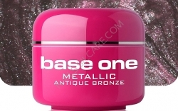 250ml BASE ONE METALLIC-COLORGEL*ANTIQUE BRONZE**NR. 47