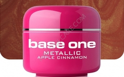 250ml   BASE ONE METALLIC-COLORGEL*APPLE CINAMON**NR. 36