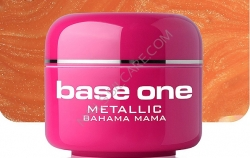 250ml  BASE ONE METALLIC-COLORGEL*BAHAMA MAMA**NR. 27