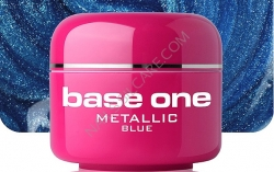 250ml BASE ONE METALLIC-COLORGEL*BLUE**NR. 7
