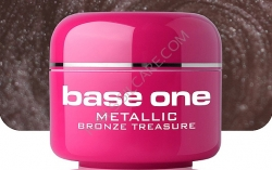 1 Liter  BASE ONE METALLIC-COLORGEL*BRONZE TREASURE**NR. 48