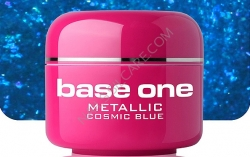 250ml BASE ONE METALLIC-COLORGEL*COSMIC BLUE**NR. 23