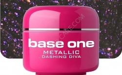 1 Liter  BASE ONE METALLIC-COLORGEL*DASHING DIVA**NR. 49