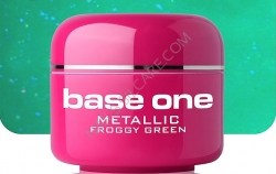 250ml BASE ONE METALLIC-COLORGEL*FROGGI GREEN**NR. 17
