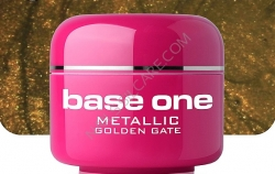 10 x 4 ml BASE ONE METALLIC-COLORGEL*GOLDEN GATE *OHNE LABEL*NR. 40