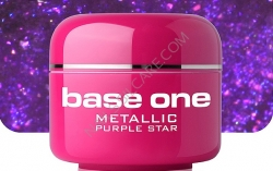 250ml BASE ONE METALLIC-COLORGEL*PURPLE STAR**NR. 45