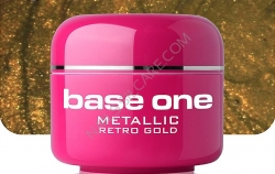 250ml  BASE ONE METALLIC-COLORGEL*RETRO GOLD**NR. 39