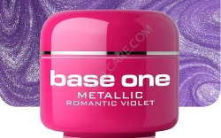 1 Liter  BASE ONE METALLIC-COLORGEL*ROMANTIC VIOLET**NR. 42
