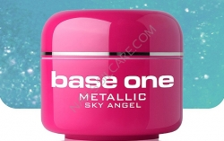 250ml BASE ONE METALLIC-COLORGEL*SKY ANGEL**NR. 21