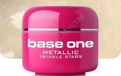 10 x 4 ml BASE ONE METALLIC-COLORGEL*TWINKLE STARS*OHNE LABEL**NR. 13