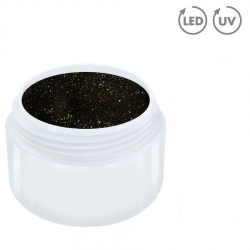 15ml SEA of Stars Hologramm Glitter- Farbgel Nr. 9 black