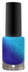 6 ml Thermonagellack metallic blau-hellblau