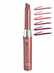 Colours Glossy Lipstick   Nr. 4  crystal mauve