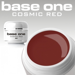 10 x 4 ml BASE ONE COLORGEL**OHNE LABEL*COSMIC RED