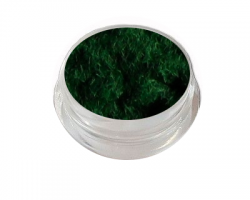Velvet Samt Plüsch Powder dark green
