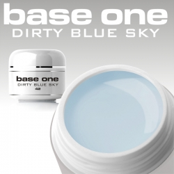 10 x 4 ml BASE ONE COLORGEL**OHNE LABEL*DIRTY BLUE SKY